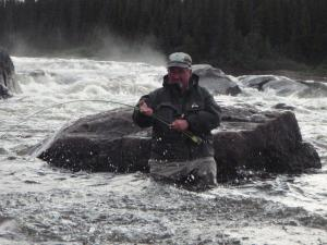 mike crosby atlantic salmon fishing williams rock